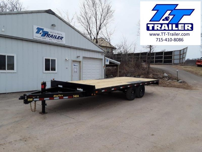 "2021 Big Tex 14OA 102"" x 20' Heavy Duty Deckover Bumper Pull Trailer"