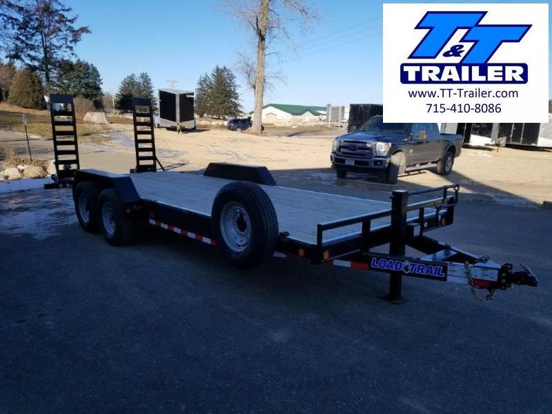 FOR RENT - 83 x 22 Car and Equipment Trailer w/ Mega Ramps