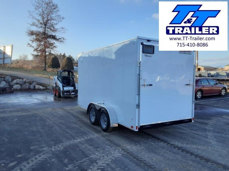 2021 Discovery Rover ET 7 x 14 V-Nose Enclosed Cargo Trailer