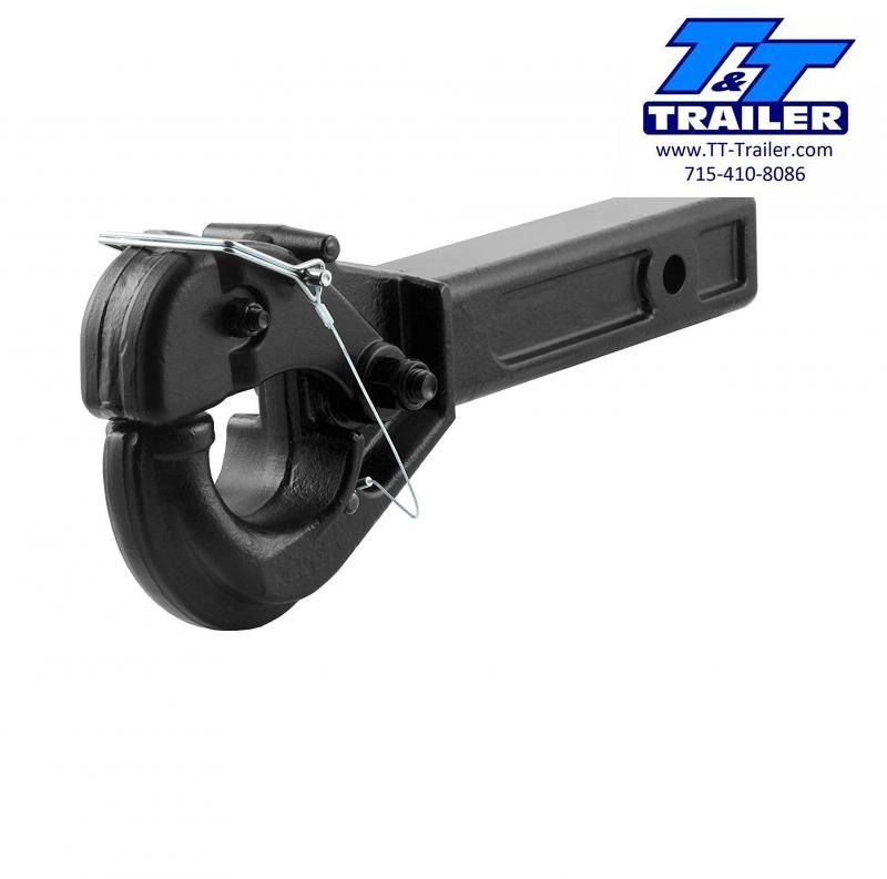 FOR RENT - Pintle (Lunette Ring) Receiver Hitch