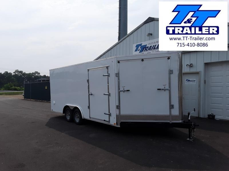 2022 Discovery Challenger ET 8.5 x 18 V-Nose Enclosed Combination Car and Toy Hauler Trailer