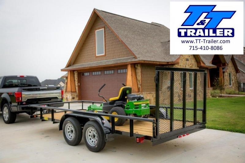 "2021 Big Tex 60ES 77"" x 12' Tandem Axle Utility Trailer"