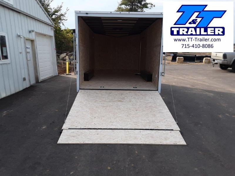 2022 Discovery Challenger ET 8.5 x 16 V-Nose Enclosed Combination Car and Toy Hauler Trailer
