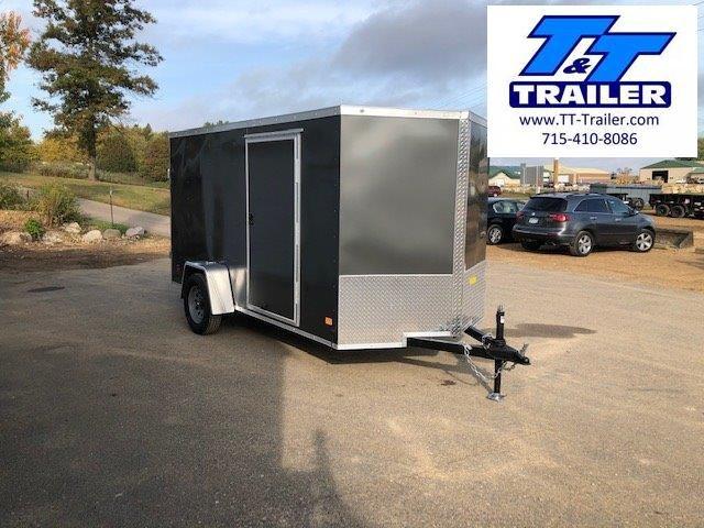 2021 Darkhorse 6 x 12 V-Nose Enclosed Cargo Trailer
