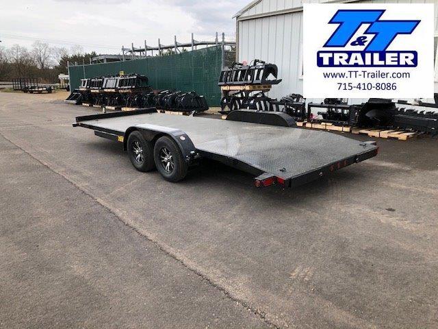 """2021 Big Tex 70DM 83"""" x 20' Car Hauler"""