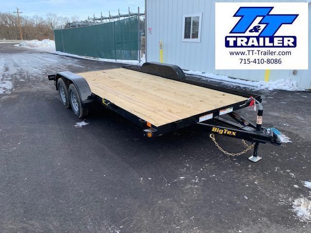 """2021 Big Tex 60EC 83"""" x 16' Car Hauler Trailer"""