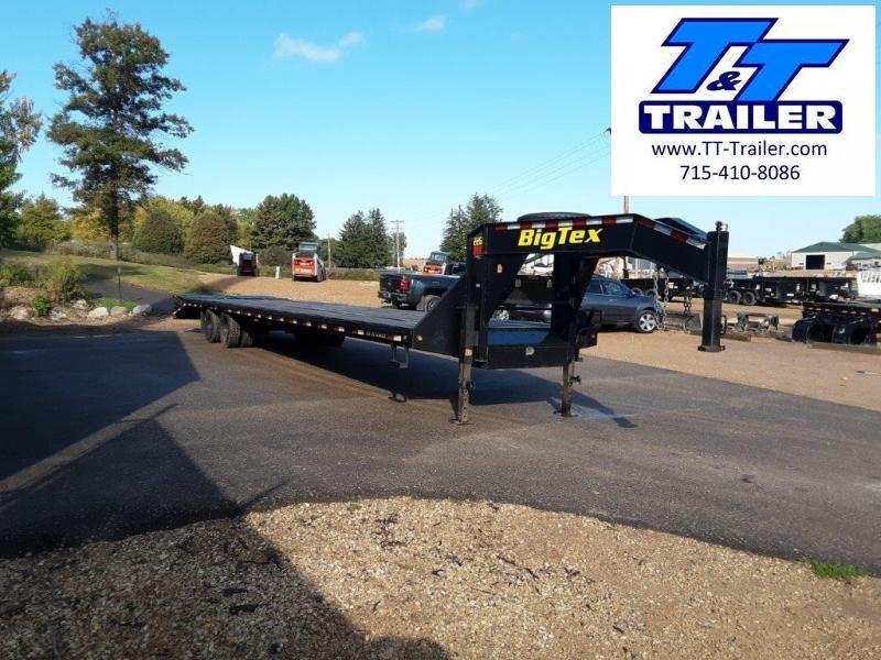"2019 Big Tex 22GN 102"" x 40' Tandem Dual Wheel Gooseneck Trailer"