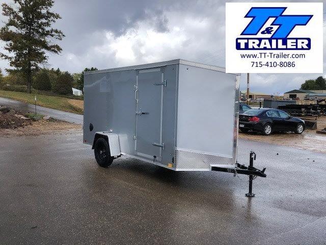 2021 Discovery Rover ET 6 x 12 V-Nose Enclosed Cargo Trailer