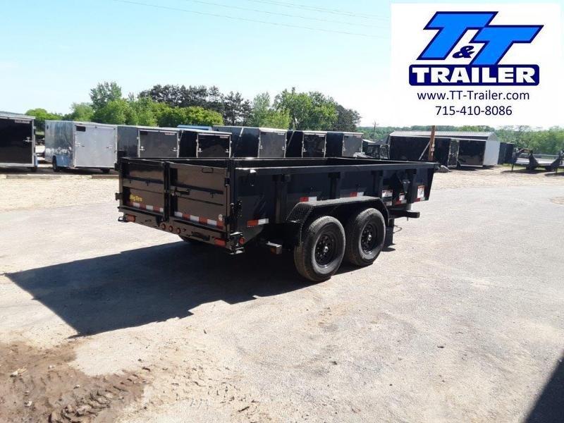 "2022 Big Tex 14LP 83"" x 14' Heavy Duty Extra Wide Low Profile Dump Trailer"