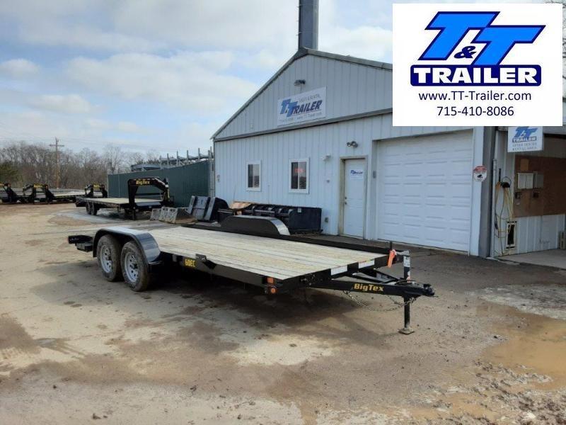 """2021 Big Tex 60EC 83"""" x 18' Car Hauler"""