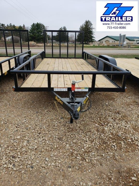 FOR RENT - 77 x 16 Utility Trailer w/ Ramp