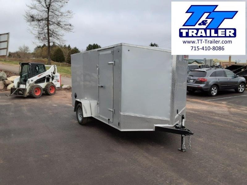 2022 Discovery Rover ET 7 x 12 V-Nose Enclosed Cargo Trailer