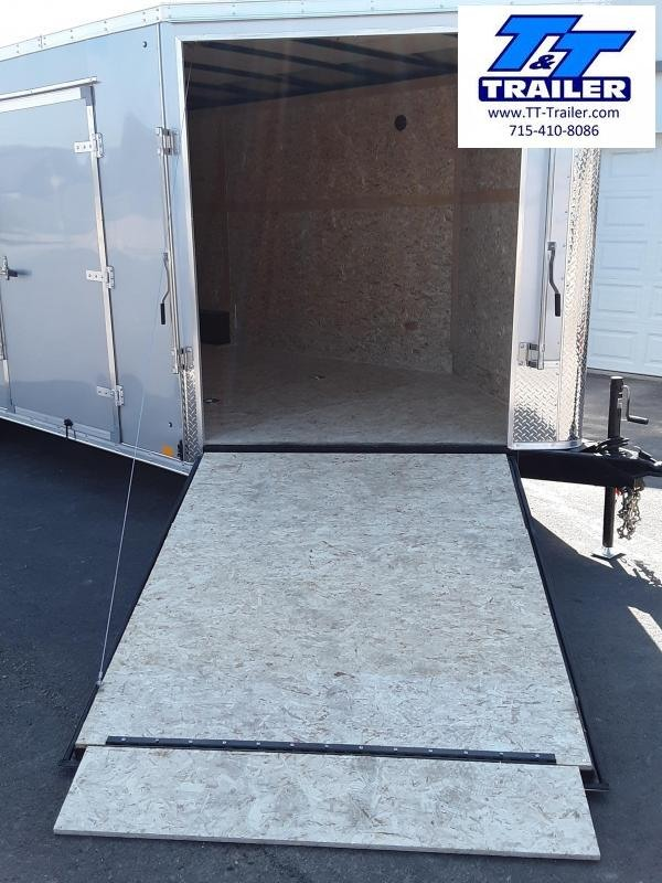 2022 Discovery Challenger SE 8.5 x 20 V-Nose Enclosed Combination Car and Toy Hauler Trailer