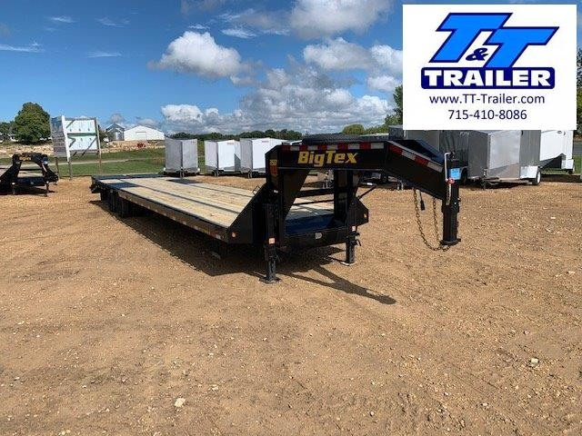 "2021 Big Tex 25GN 102"" x 40' Tandem Dual Wheel Gooseneck Trailer"