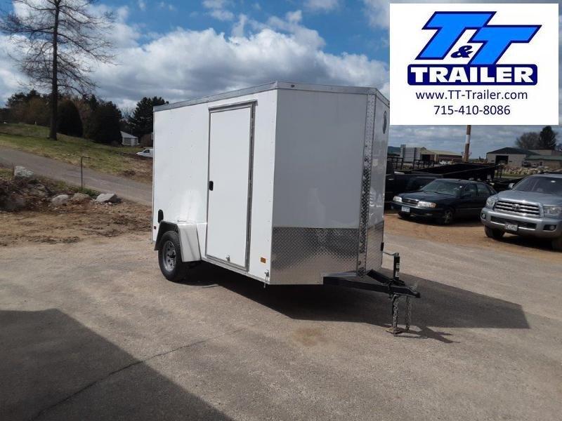 2020 Darkhorse 6 x 10 V-Nose Enclosed Cargo Trailer