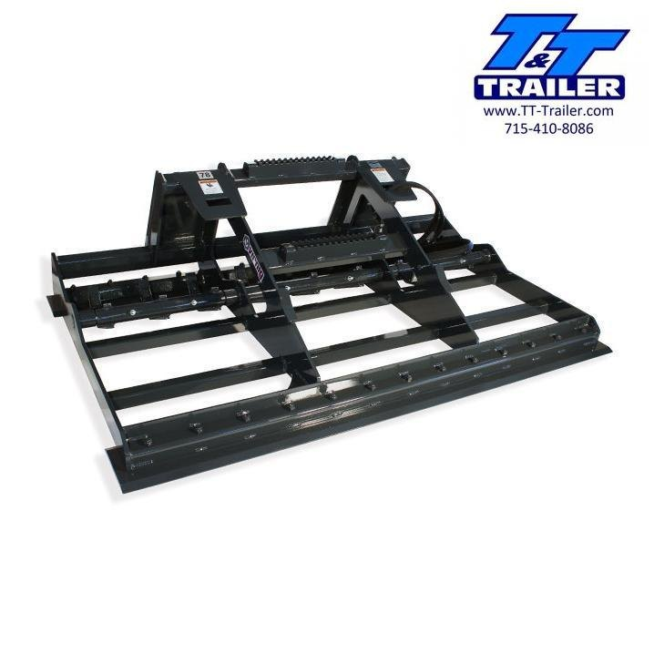 "FOR RENT - Grade Plane Land Leveler Attachment for Bobcat (72"")"