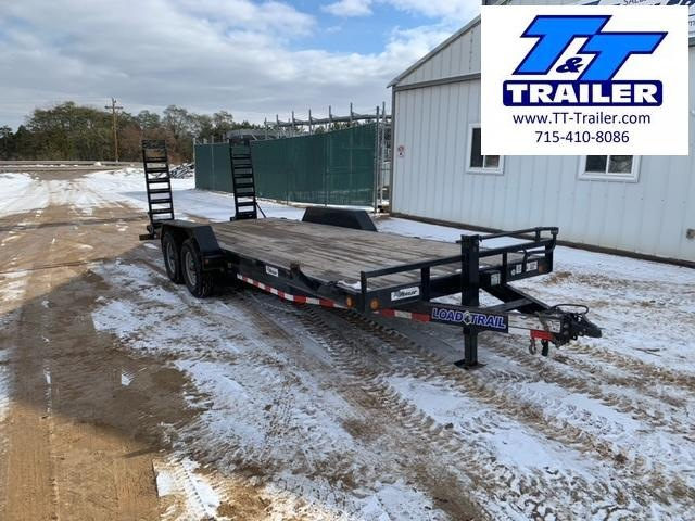 """2019 Load Trail 14ET 83"""" x 22' Heavy Duty Equipment Trailer with Ramps"""
