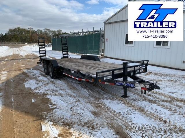 "2019 Load Trail 14ET 83"" x 22' Heavy Duty Equipment Trailer with Ramps"