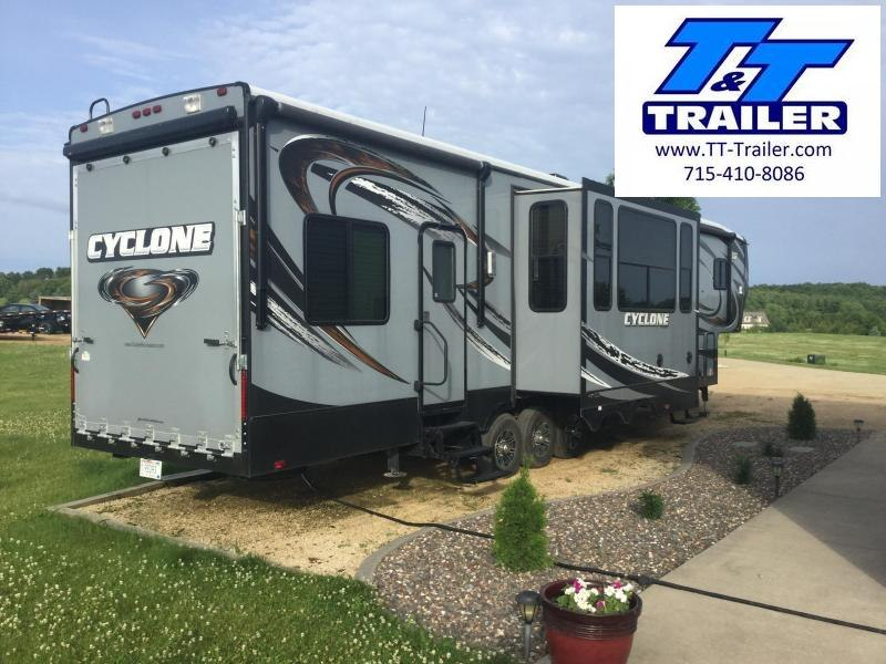 2014 Heartland Cyclone 43' Toy Hauler - Model CY 3800