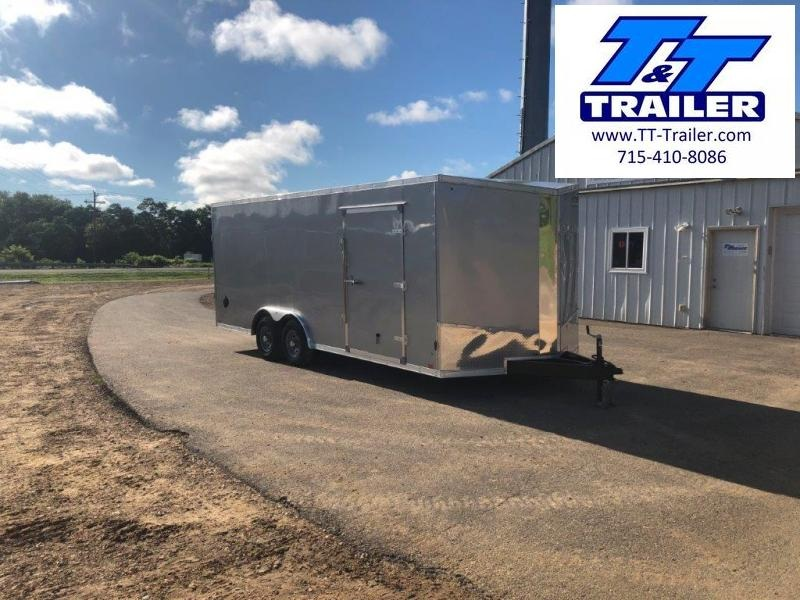 2021 Discovery Challenger SE 8.5 x 20 V-Nose Enclosed Combination Car and Toy Hauler Trailer