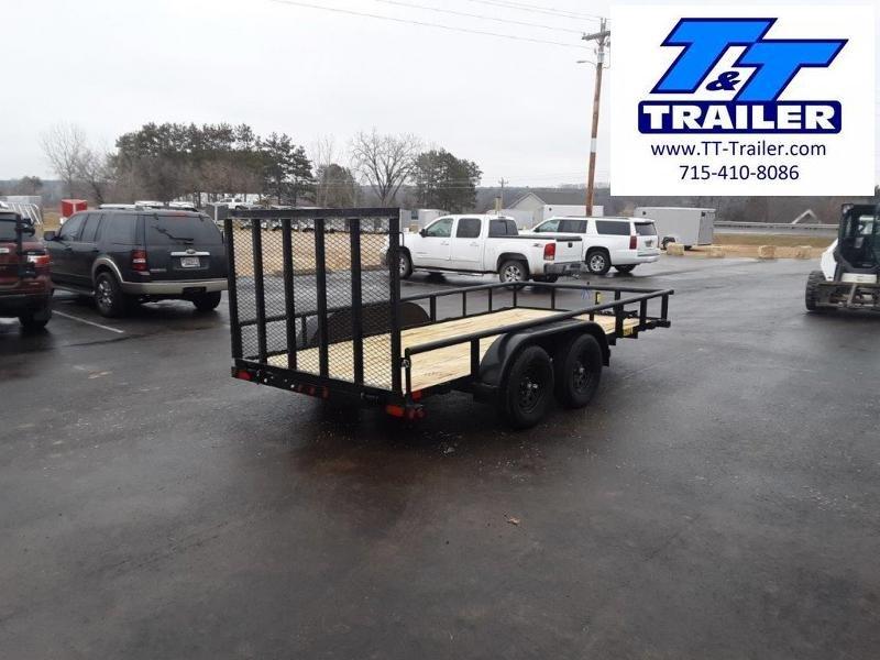 "2021 Big Tex 60PI 77"" x 14' Tandem Axle Utility Trailer"