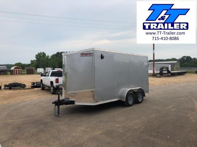 FOR RENT - 7 x 12 V-Nose Enclosed Cargo Trailer