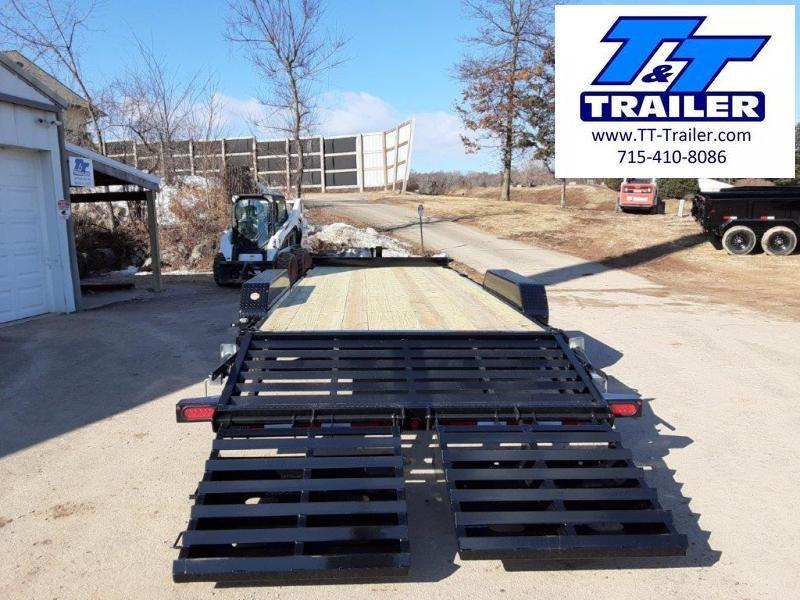 "2021 Big Tex 14ET 83"" x 20' Heavy Duty Equipment Trailer"
