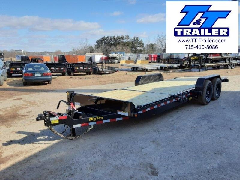 "2021 Big Tex 14TL 83"" x 22' Heavy Duty Tilt Equipment Trailer"