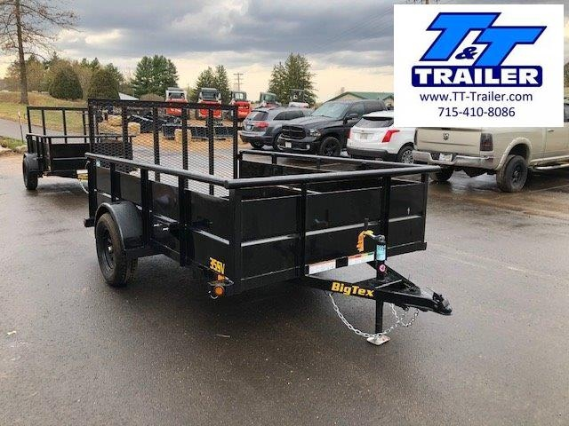"2021 Big Tex 35SV 77"" x 10' Single Axle Utility Trailer"