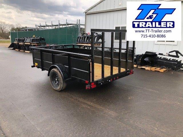 "2021 Big Tex 35SV 77"" x 10' Single Axle Utility Trailer"