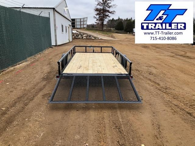 "2021 Big Tex 35SA 77"" x 14' Single Axle Utility Trailer"