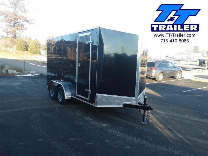 2021 Discovery Rover ET 7 x 14 V-Nose Enclosed Cargo Trailer