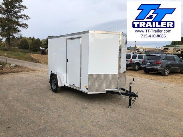2021 Darkhorse 6 x 10 V-Nose Enclosed Cargo Trailer