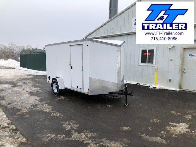 2021 United Trailers 6 x 12 V-Nose Enclosed Cargo Trailer
