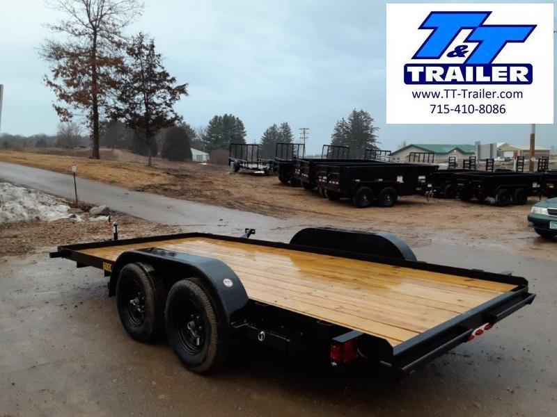 """2021 Big Tex 60EC 83"""" x 16' Car Hauler"""