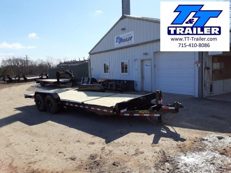 "2022 Big Tex 14TL 83"" x 22' Heavy Duty Tilt Equipment Trailer"