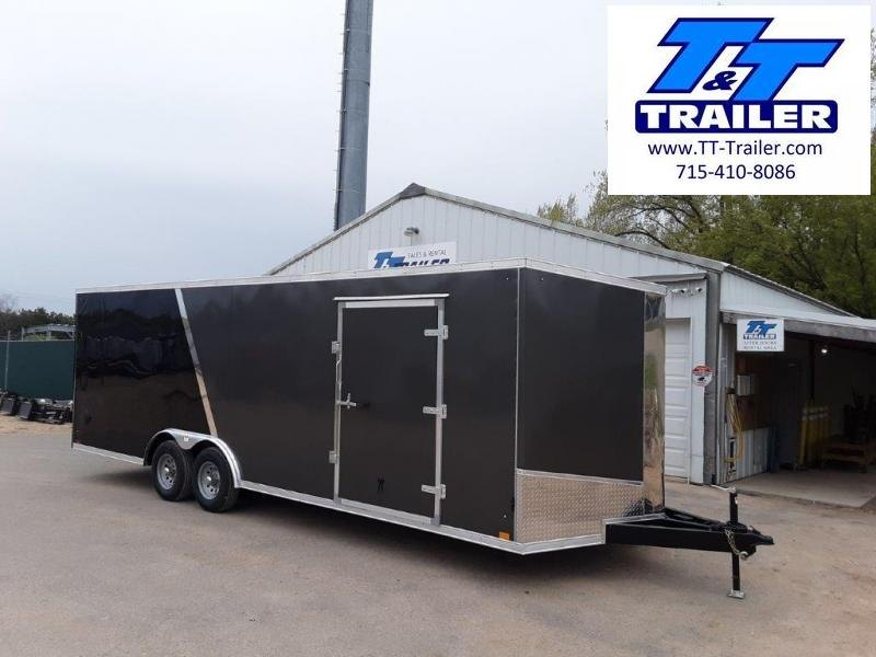 FOR RENT - 8.5 x 24 V-Nose Enclosed Cargo Trailer