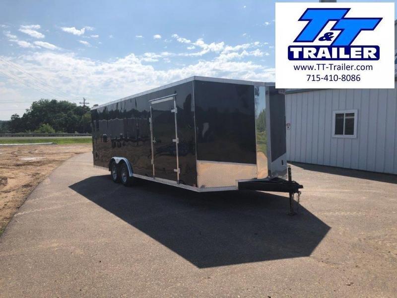 FOR RENT - 8.5 x 24 V-Nose Enclosed Cargo Trailer