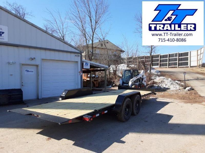 "2021 Big Tex 14TL 83"" x 22' Heavy Duty Tilt Equipment Trailer"