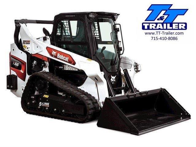 FOR RENT - T66 Bobcat Track Loader Skid Steer