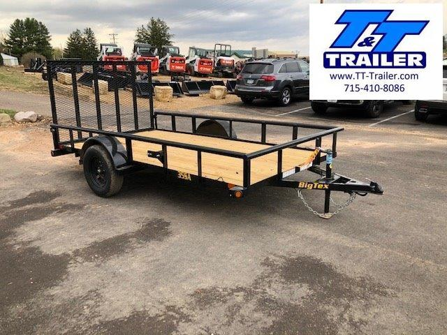 "2021 Big Tex 35SA 77"" x 10' Single Axle Utility Trailer"
