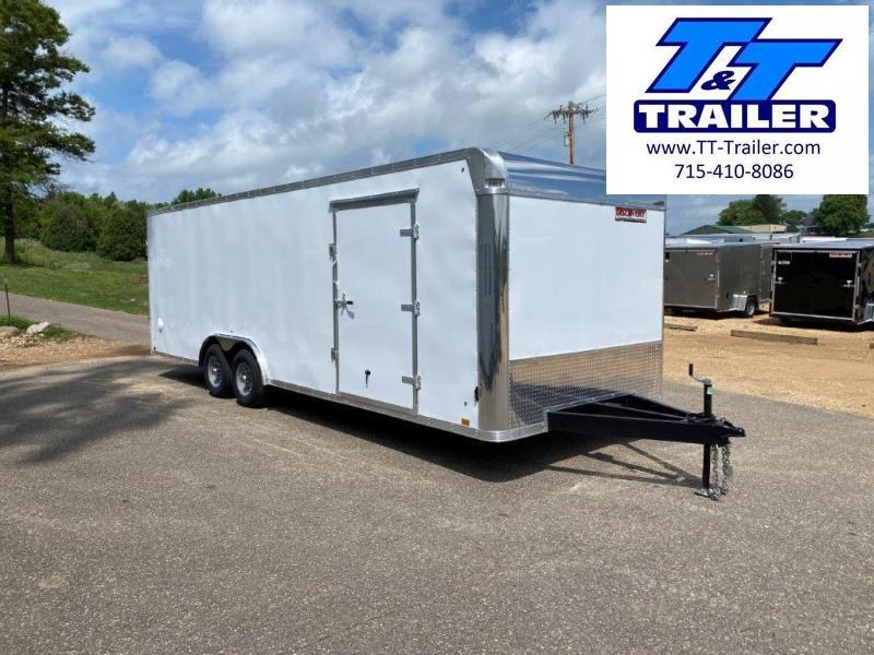 2021 Discovery Challenger SE 8.5 x 24 Enclosed Combination Car and Toy Hauler Trailer
