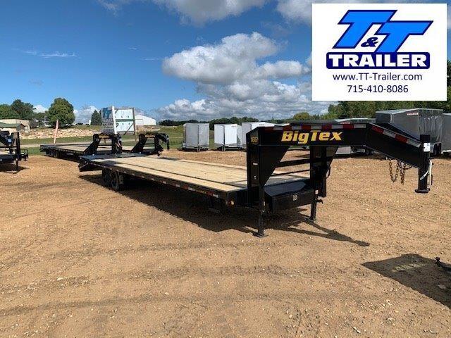 "2022 Big Tex 16GN 102"" x 30' Single Wheel Tandem Gooseneck Trailer"