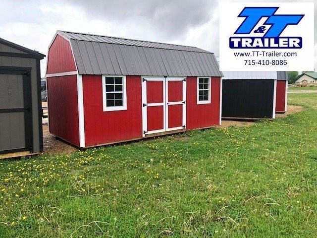 Urethane Side Lofted Barn (10x20) - In Stock
