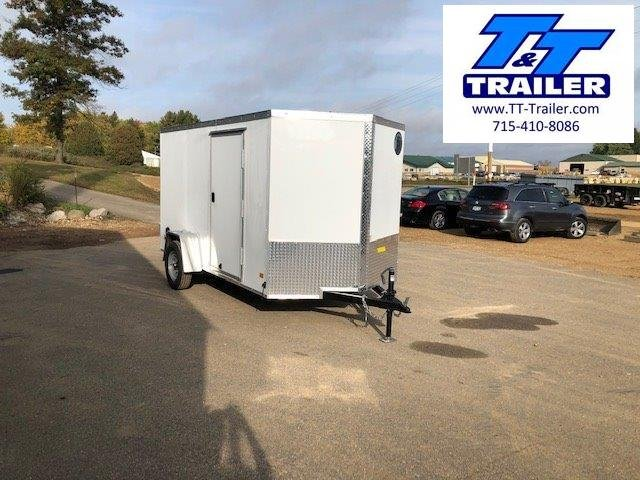 2021 Darkhorse 6 x 12 V-Nose Enclosed Cargo Trailer