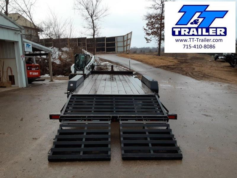 FOR RENT - 83 x 20 Car and Equipment Trailer w/ Mega Ramps