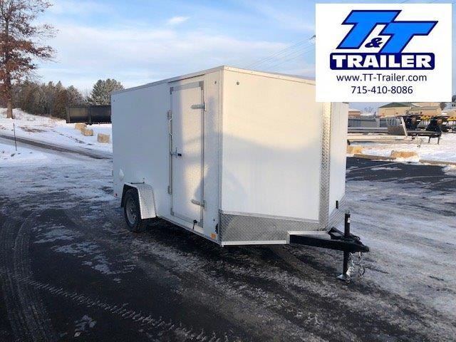 2021 Discovery Rover ET 7 x 12 V-Nose Enclosed Cargo Trailer