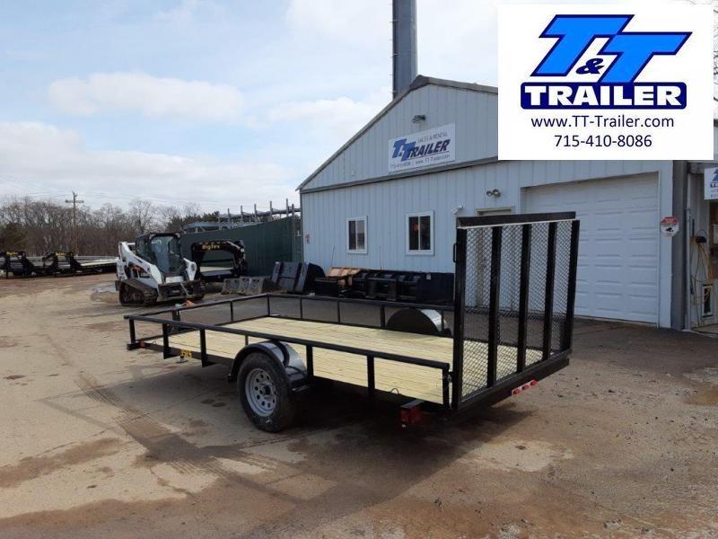 "2021 Big Tex 35ES 77"" x 14' Single Axle Utility Trailer - Arriving Soon"