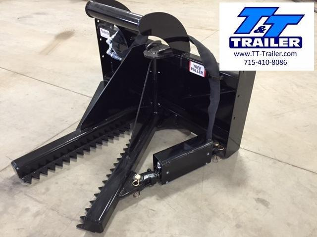 """FOR RENT - Post and Tree Puller Attachment for Bobcat (Up to 8"""" Diameter Trees)"""
