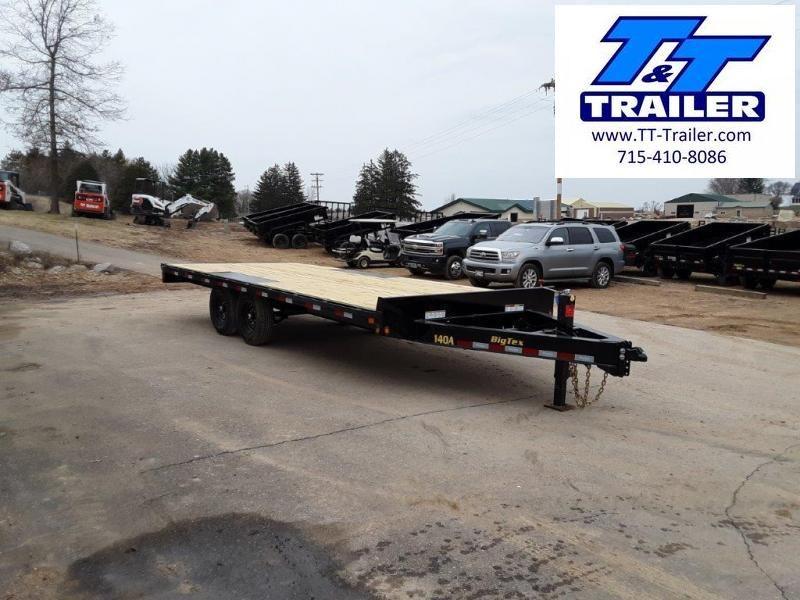"2021 Big Tex 14OA 102"" x 20' Heavy Duty Deckover Bumper Pull Trailer"